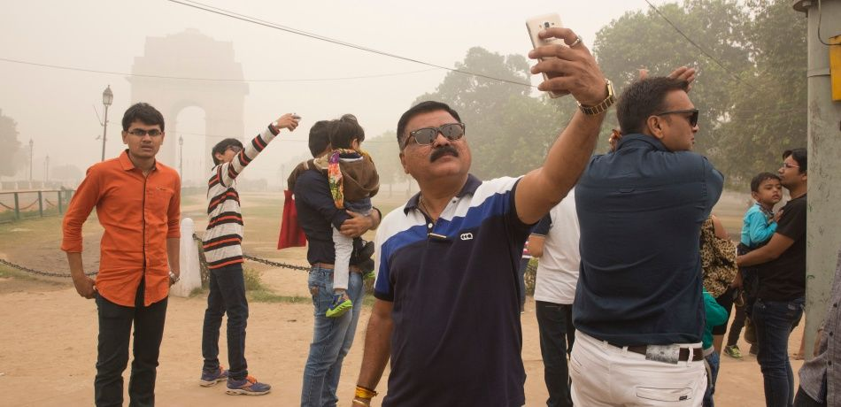 Three accident victims die after people take selfies instead of helping them in India.