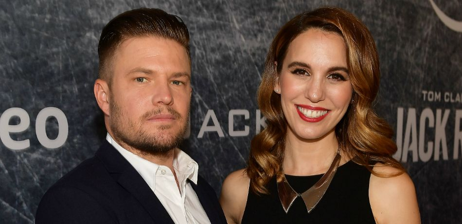 Brendan Rooney and Christy Carlson Romano, August 31, 2018
