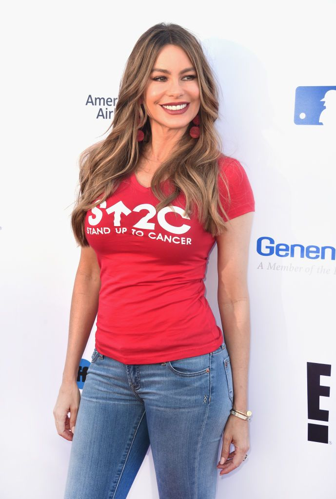 Sofia Vergara poses in new lingerie photo for breast cancer awareness