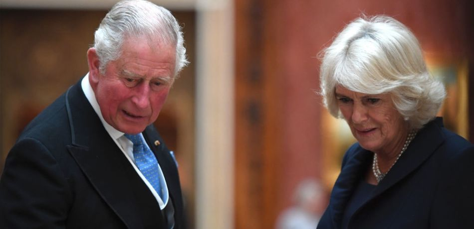 LONDON, ENGLAND - OCTOBER 23: Prince Charles, Prince of Wales and Camilla, Duchess of Cornwall view Dutch items from the Royal Collection at Buckingham Palace on October 23, 2018 in London, United Kingdom. King Willem-Alexander of the Netherlands accompanied by Queen Maxima are staying at Buckingham Palace during their two day stay in the UK. The last State Visit from the Netherlands was by Queen Beatrix and Prince Claus in 1982.
