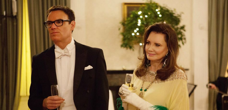 """SOUTHERN CHARM -- """"Ho, Ho, Ho"""" Episode 514 -- Pictured: (l-r) Whitney Sudler-Smith, Patricia Altschul -"""