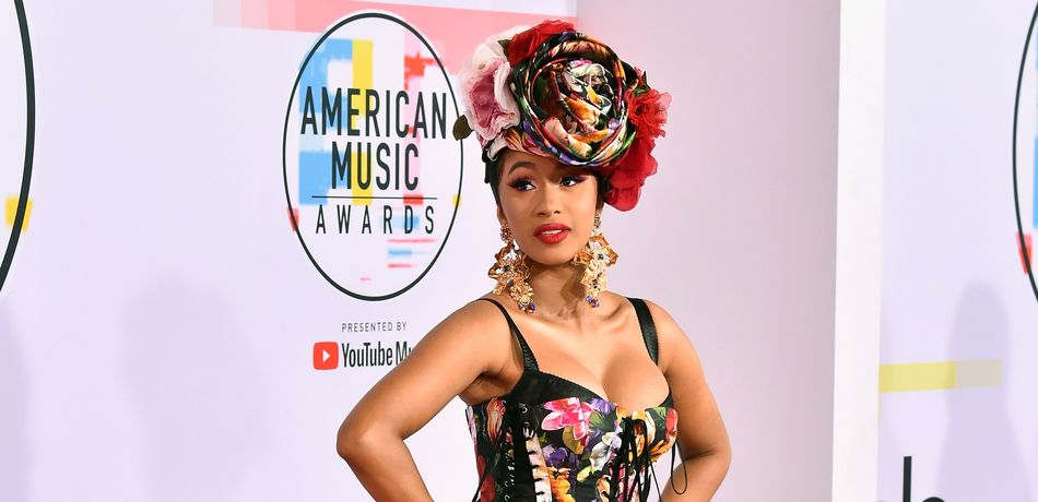 Cardi B attends the 2018 American Music Awards