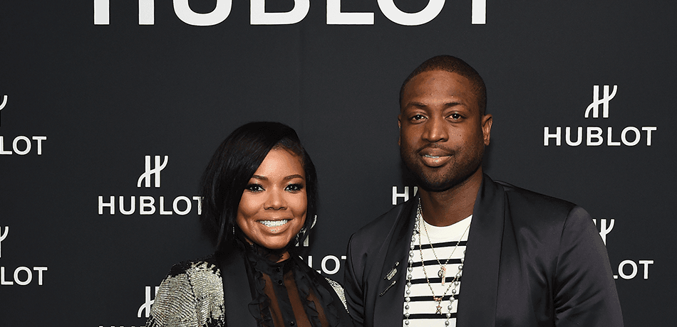 Gabrielle Union and Dwyane Wade attend the Hublot.