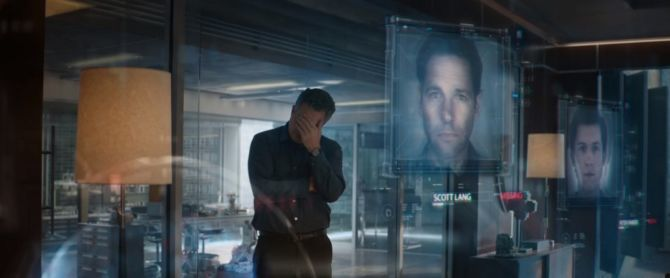 Bruce Banner mourns his loss
