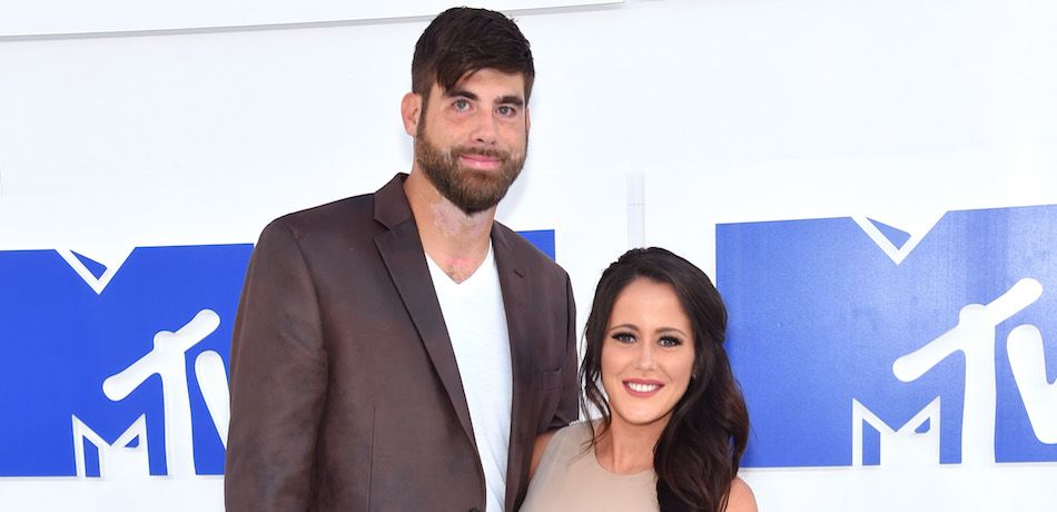 David Eason and Jenelle Evans attend the 2016 MTV Video Music Awards.