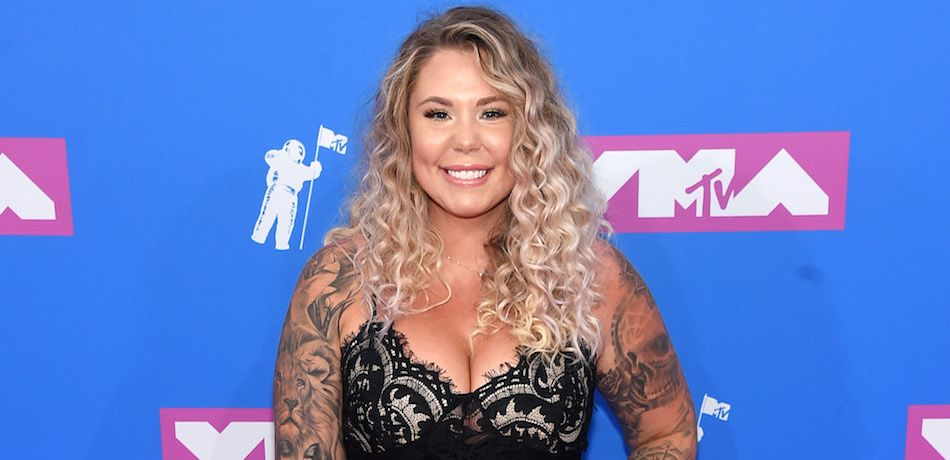Kailyn Lowry attends the 2018 MTV Video Music Awards .