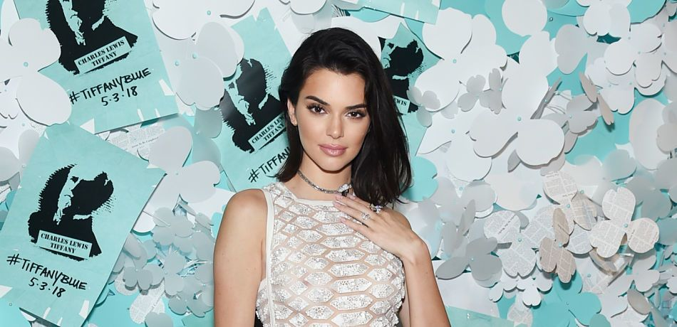 Kendall Jenner attends the Tiffany & Co. Paper Flowers event