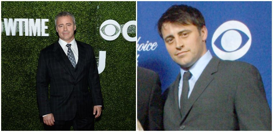 Current and older press photo of Matt LeBlanc attending events and posing for cameras
