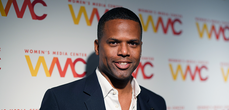 AJ Calloway attends the 2018 Women's Media Awards at Capitale.