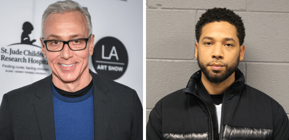Composite photo of Dr. Drew and Jussie Smollett
