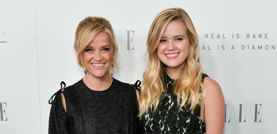 """Reese Witherspoon and Ava Phillipe attend the 'Elle"""" Women in Hollywood Awards."""