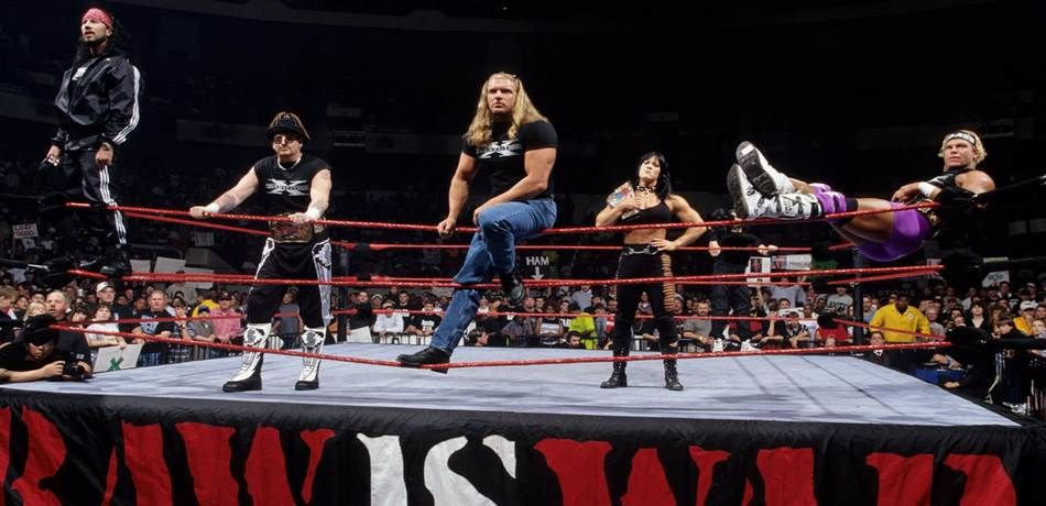 """D-Generation dominated the ring during the """"Attitude Era"""""""