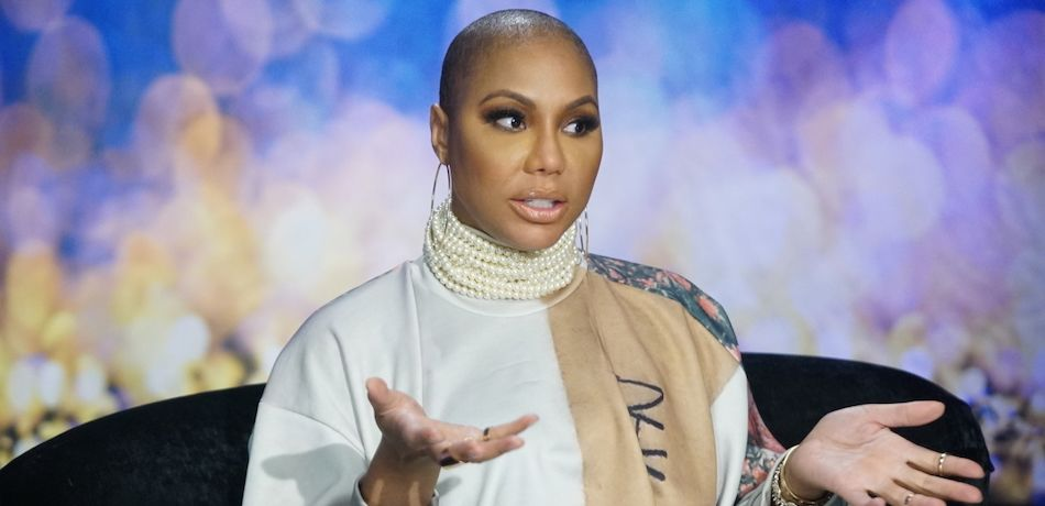 Tamar Braxton speaks in the diary room on Celebrity Big Brother