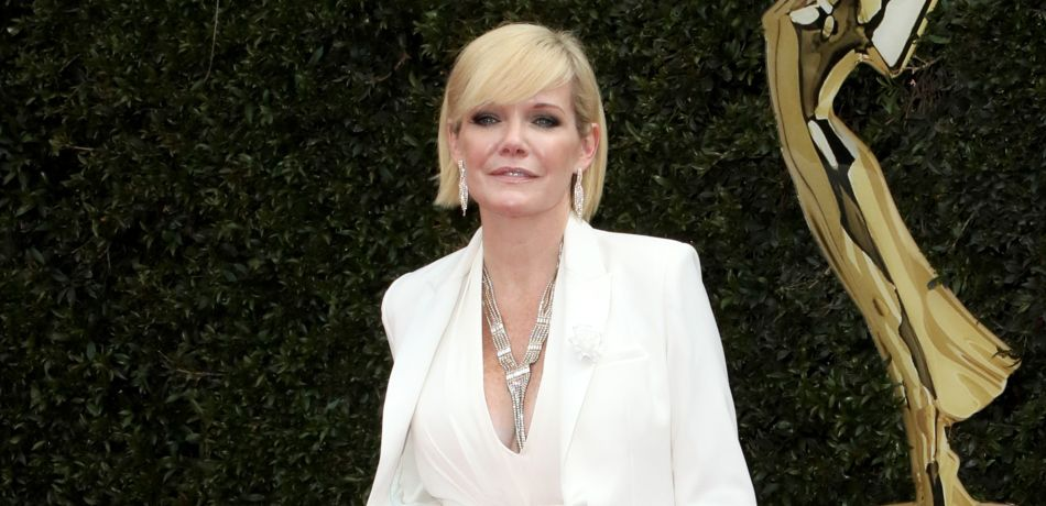 Maura West attends the Daytime Emmy Awards.