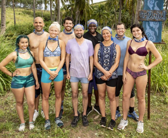 The Manu Tribe competes on SURVIVOR: Edge of Extinction