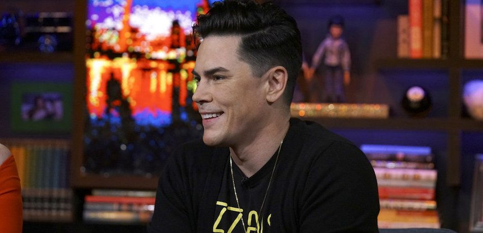 Tom Sandoval is seen on 'Watch What Happens Live.'