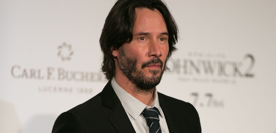Keanu Reeves attends the Japan premiere of 'John Wick: Chapter 2' at Roppongi Hills on June 13, 2017 in Tokyo, Japan