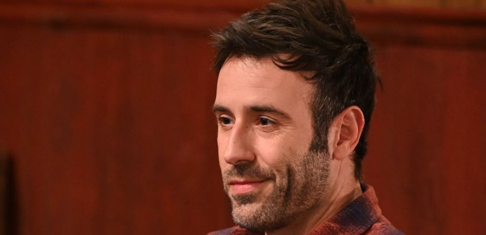 Coby Ryan McLaughlin films as Shiloh on 'General Hospital.'