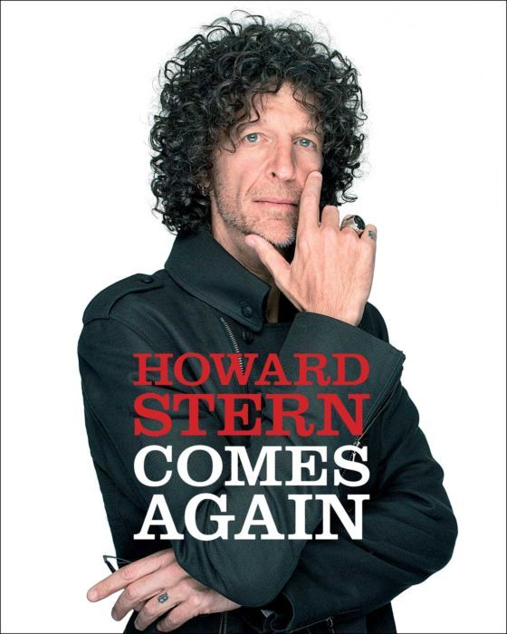 The cover of the 2019 book 'Howard Stern Comes Again.'