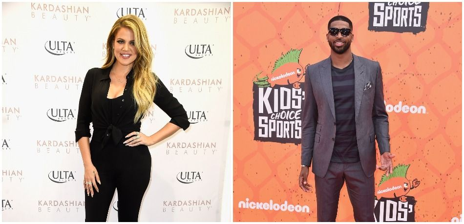 Khloe Kardashian and Tristan Thompson hit the red carpet at separate events