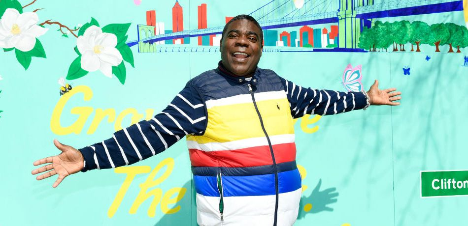 Tracy Morgan attends 'The Last O.G.' Season 2 Garden Party For Good at the Hattie Carthan Community Garden in Brooklyn on March 28, 2019.