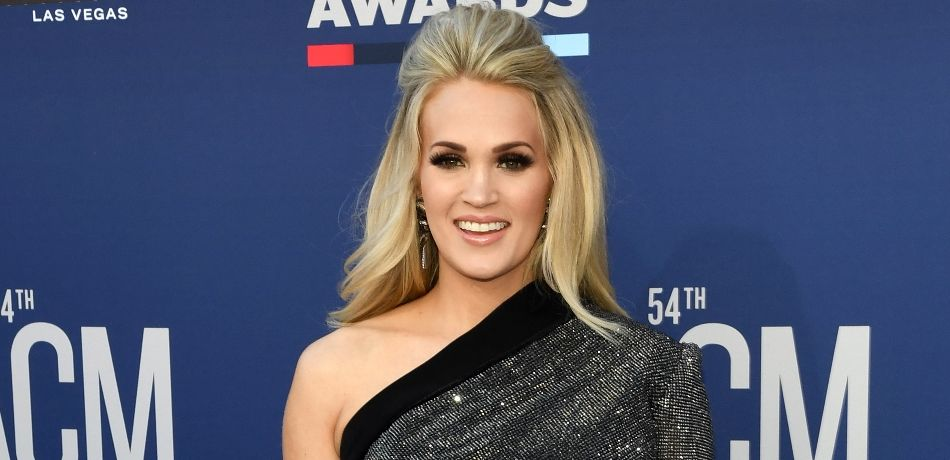 Carrie Underwood attends the 54th Academy Of Country Music Awards