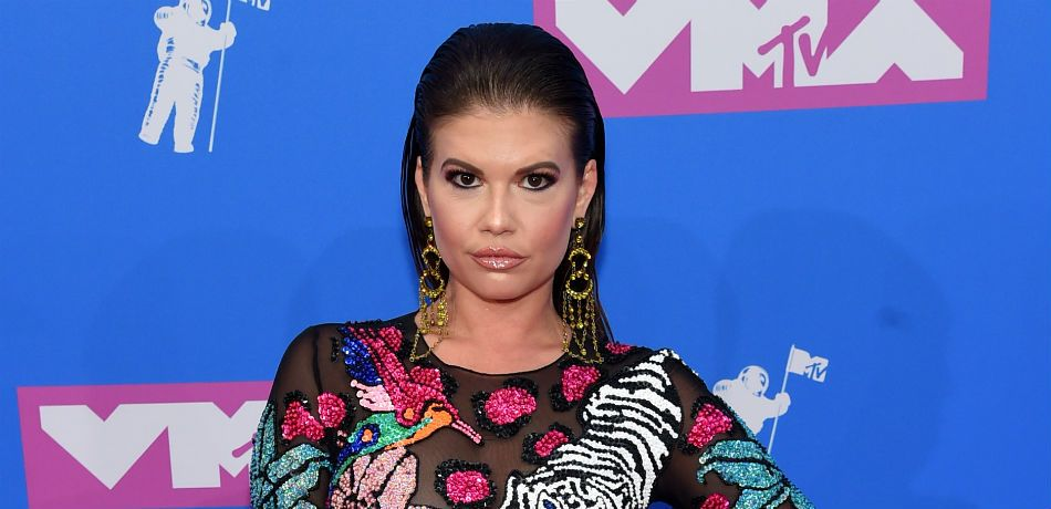 Chanel West Coast poses for a photo at the 'VMAs.'
