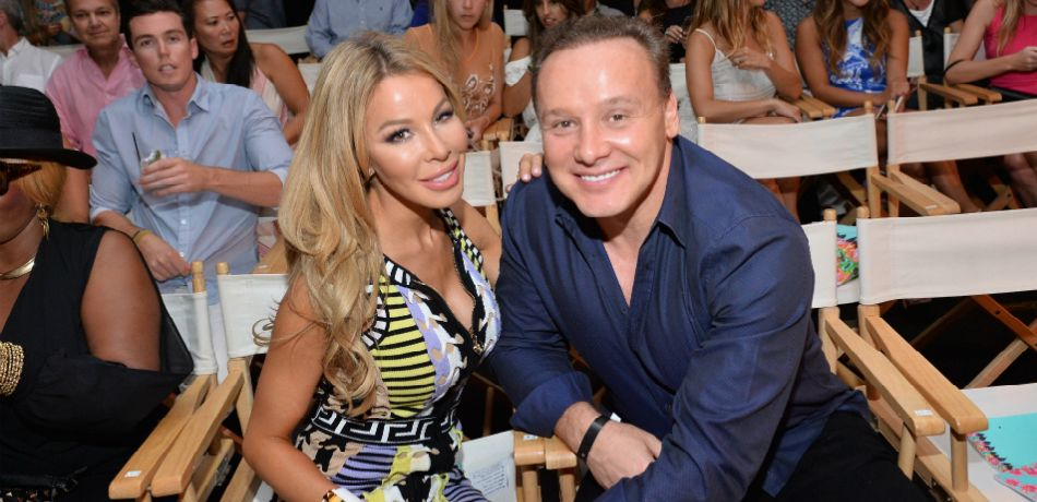 TV personality Lisa Hochstein (L) and Dr. Leonard Hochstein attend the Luli Fama 2016 Collection during FUNKSHION: