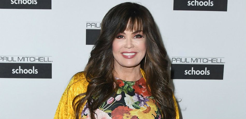 Marie Osmond poses for a photo at a Paul Mitchell fundraiser.