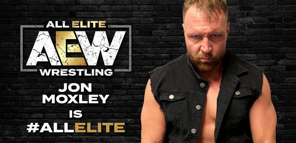 """Jon Moxley is officially """"all elite."""""""