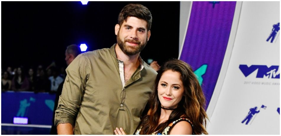 David Eason (L) and Jenelle Evans attend the 2017 MTV Video Music Awards at The Forum on August 27, 2017 in Inglewood, California.
