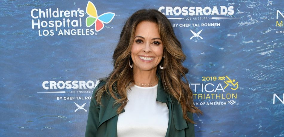 Brooke Burke, 47, Shows Skin In A Strapless Bikini With Tiny Bottoms