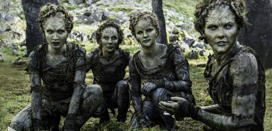 Children of the Forest characters, as seen in HBO's 'Game of Thrones'