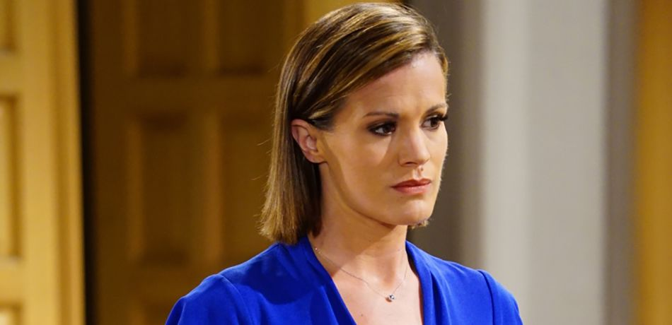 Melissa Claire Egan (Chelsea Newman) on the CBS series THE YOUNG AND THE RESTLESS.