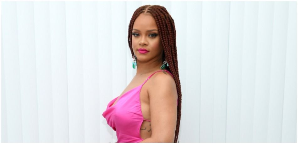 Rihanna Shows Off Dangerous Curves As She Strips Down To Lingerie On Instagram