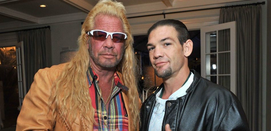 Dog Chapman and Leland Chapman attend the 2013 Electus & College Humor Holiday Party