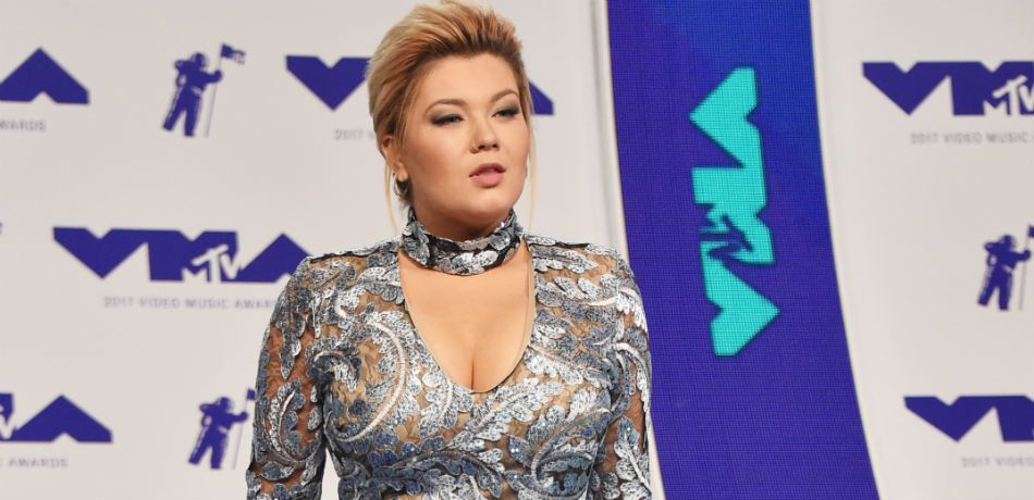 Amber Portwood appears at the MTV Video Music Awards.