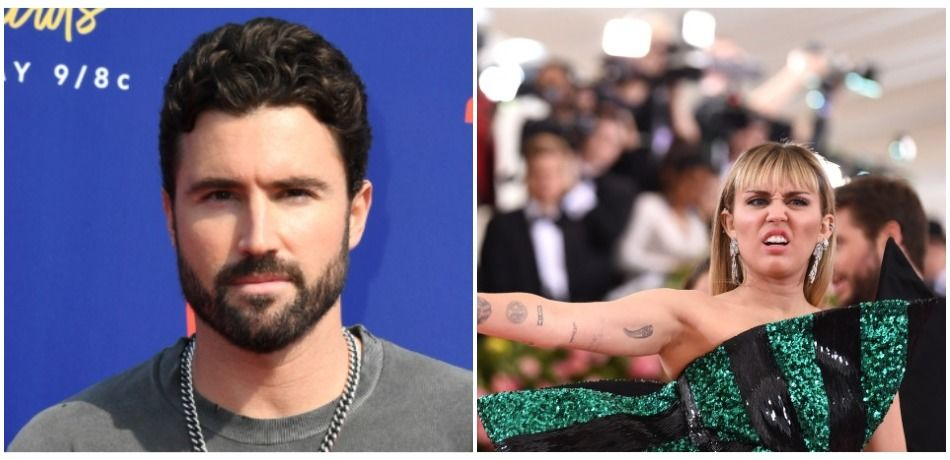 Brody Jenner attends the 2019 MTV Movie and TV Awards at Barker Hangar on June 15, 2019 in Santa Monica, California./Miley Cyrus attends The 2019 Met Gala Celebrating Camp: Notes on Fashion at Metropolitan Museum of Art on May 06, 2019 in New York City.