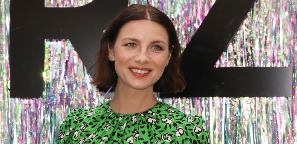 : Actress Caitriona Balfe attends the Starz FYC Day at The Atrium at Westfield Century