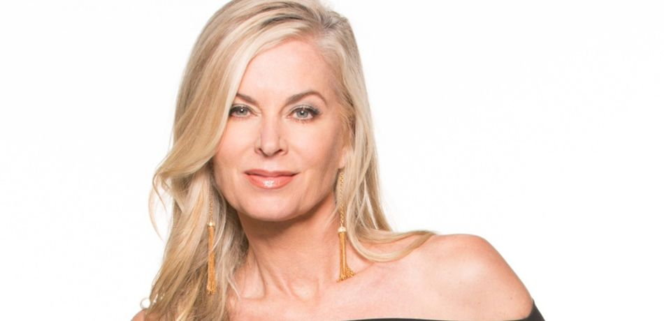 Eileen Davidson plays Ashley Abbott on THE YOUNG & THE RESTLESS.