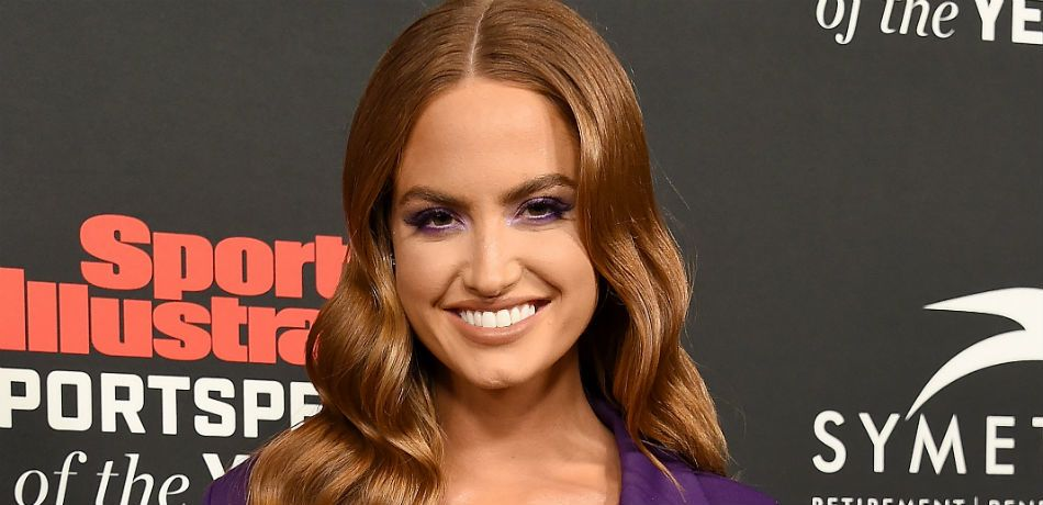 Haley Kalil poses as she attends the Sports Illustrated Sportsperson Of The Year Awards at The Beverly Hilton Hotel on December 11, 2018.