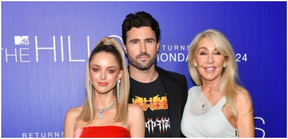 """Kaitlynn Carter Jenner, Brody Jenner and Linda Thompson attend the premiere of MTV's """"The Hills: New Beginnings"""" at Liaison on June 19, 2019 in Los Angeles, California."""