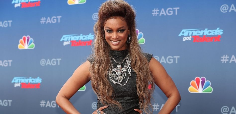 """Tyra Banks attends the red carpet kickoff for """"America's Got Talent"""" season 13 at Pasadena Civic Auditorium on March 12, 2018 in Pasadena, California."""