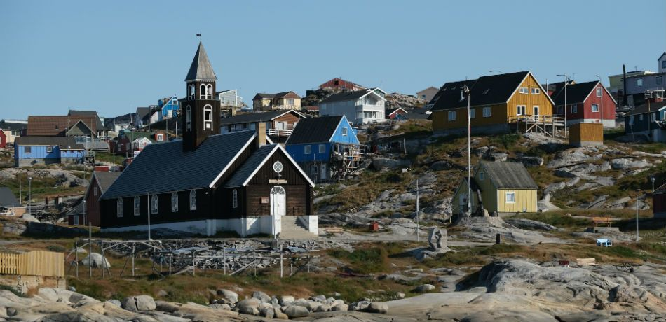 a town in greenland