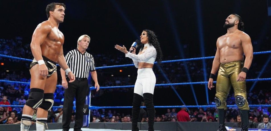 Chad Gable takes on Andrade