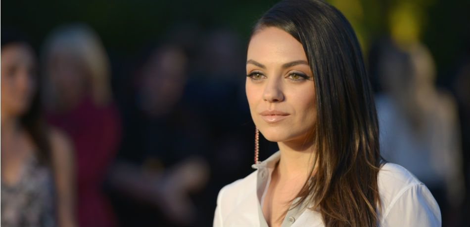 """Mila Kunis attends the Burberry """"London in Los Angeles"""" event at Griffith Observatory on April 16, 2015"""