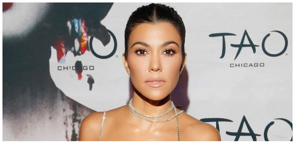 Kourtney Kardashian attends the TAO Chicago Grand Opening Celebration at TAO Chicago on September 15, 2018 in Chicago, Illinois.