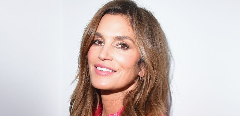 Cindy Crawford during an exhibition hosted by Acne Studios featuring Cindy Crawford, Sam Abell and Amarrillo on at Galerie Edouard Escougnou on September 28, 2018 in Paris, France.