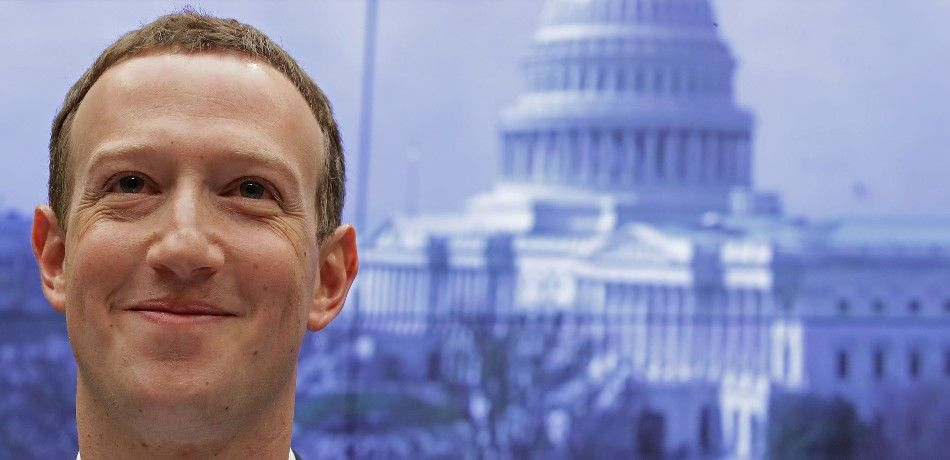 Facebook co-founder, Chairman and CEO Mark Zuckerberg arrives to testify before the House Energy and Commerce Committee