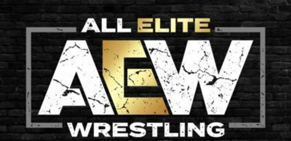 An image of the official AEW logo
